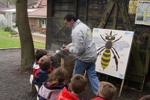 C2 abeille enfumoir