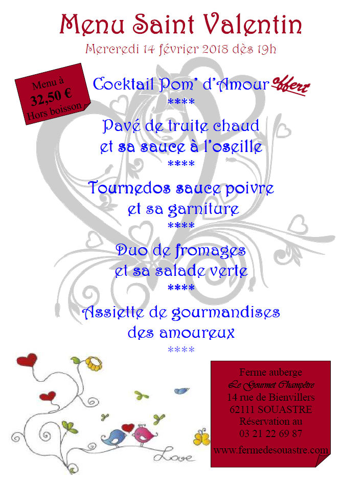 Capture menu st valentin 2018